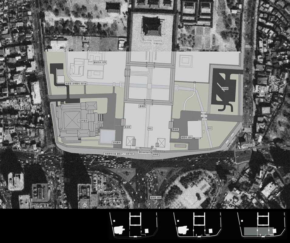 Masterplan of Gwanghwamun Area Improvement